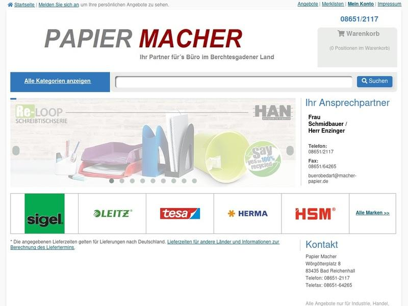 Screenshot von https://macher-papier.portalkit.de
